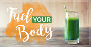Green smoothie - fuels your body